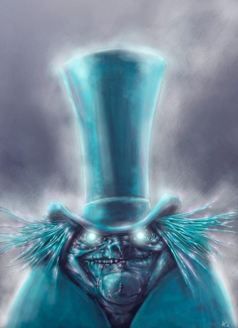 HITCHHIKING_GHOST_TOP_HAT_by_QuinteroART