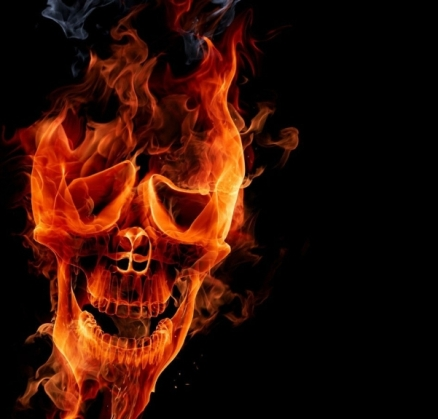 flames_skulls__digital_art